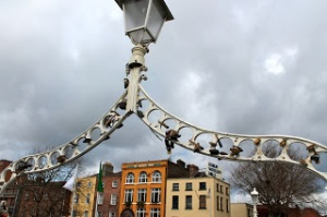 Lovers' Locks on the Ha'Penny Bridge
