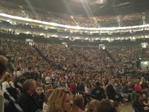 This is what a sold-out O2 looks like