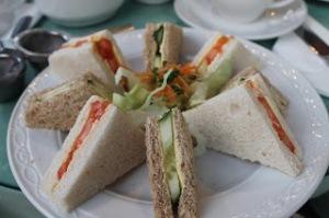 The quintessential tea sandwiches