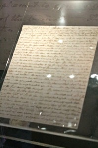 """Letter from Jane to Cassandra when Pride and Prejudice was published. She described it as her """"own darling child."""" How sweet is that?"""