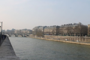 Some of the first sites I saw in Paris