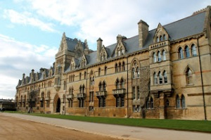 College where Lewis Carroll and J.R.R. Tolkien went